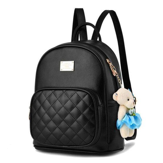 Korean Diamond stitched Backpack