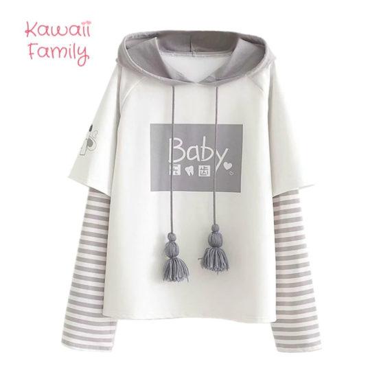Kawaii Baby hoodie sweatshirt