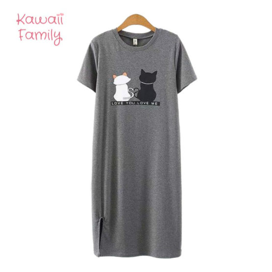 Love cat casual dress
