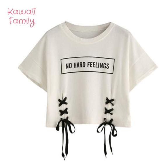"""""""no hard feelings"""" T-shirt"""