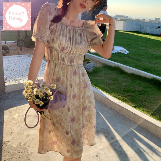 Vintage summer floral dress