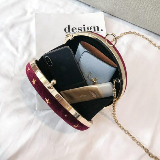 Starry Sky Fashion Suede Shoulder Bag