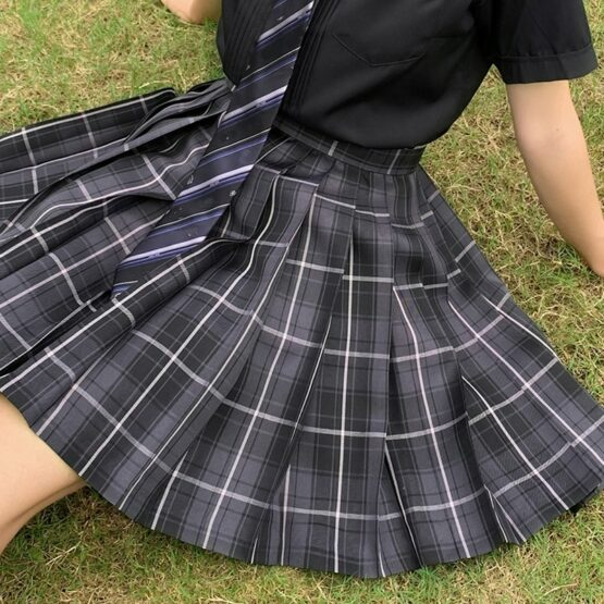 Japanese styled Uniform Pleated skirt