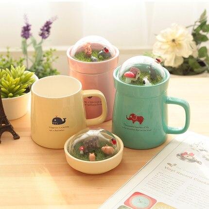 Patio landscape cover ceramic mug
