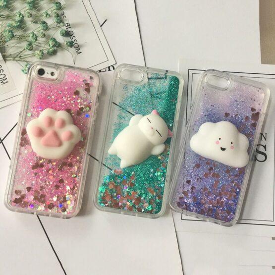 3D Squishy Cat Iphone Case