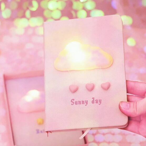 Kawaii Cloud light Journal
